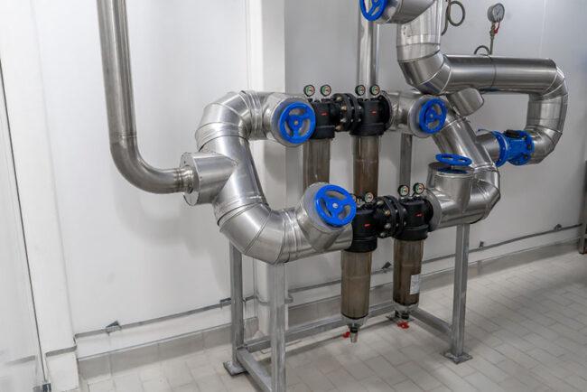 Maintenance de machines industriels et changement des filtres